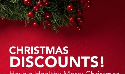 Christmas Discounts – Have a healthy Merry Christmas!